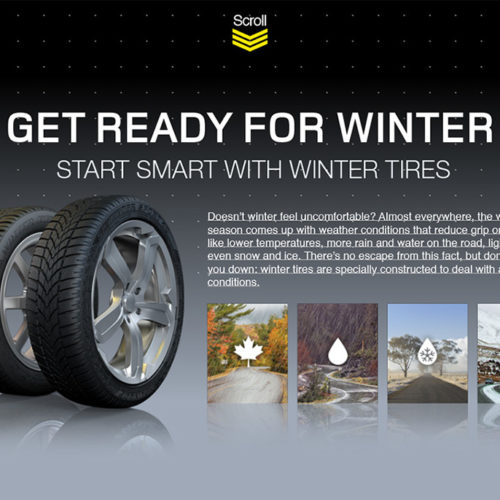 The power of winter tires