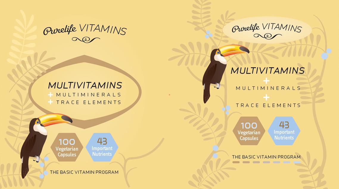 Purelife Vitamins Illustration